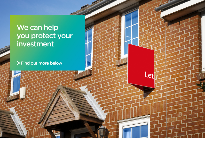 "Property investment under insurance ""we can help you protect your investment"""