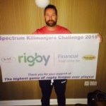 Supporting The Steve Prescott Foundation - Spectrum Kilimanjaro Challenge 2015